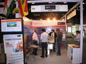 Stand de Onyx en SOLARCON India