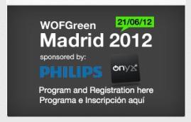WOFGreen Madrid 2012